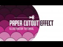 Paper cutout effect in Illustrator