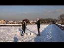 Первый белорусский снеговик в Париже