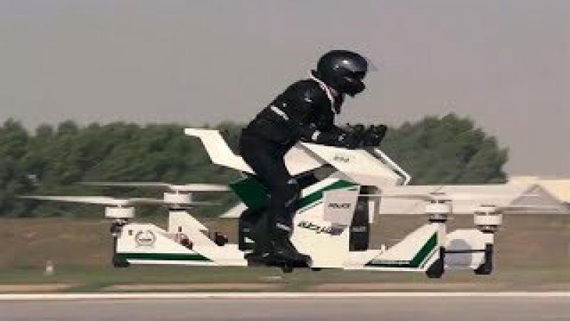Polisi Dubai Patroli Menggunakan Motor Terbang