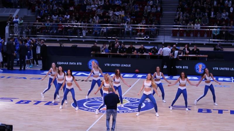 Зенит (Баскетбол) 2017-10-15 Группа поддержки Зенит-Астана 84-73 Ч.1