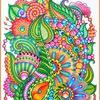 ZENTANGLE_DOODLE_GRAPHICS/как рисовать зентанглы