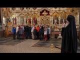Детский православный хор беженцев из Донецкой и Мариупольской епархии поёт песню о России.