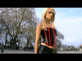 Irina in short dress and mini skirt