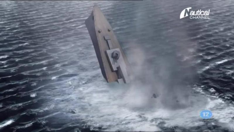 Тайны затонувших кораблей 1 сезон 3 серия: Курс на столкновение