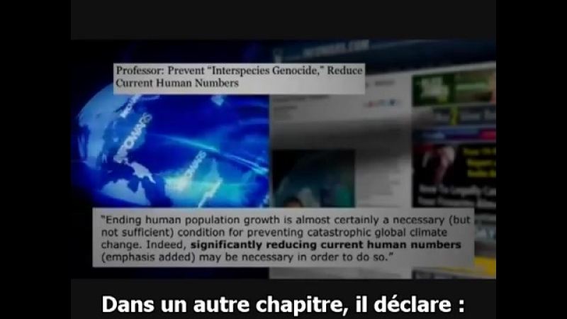 Chaîne YT - Alex Jones - Infowars - En Français (VOSTFR) - 46.La Dictature Scientifique de la Surpopulation - Alex Jones - VOSTF
