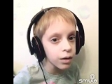 Мальчик сделал кавер на трек Feduk - Хлопья летят наверх