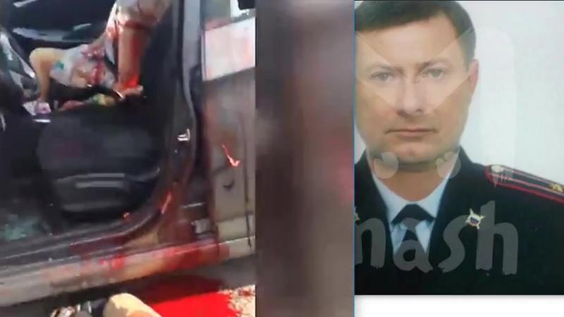 Полицейский расстрелял бывших жену и тестя.