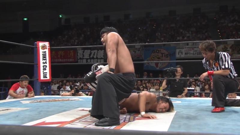НЖПВ Доминион 6.18: Хироши Танахаши vs. Хирооки Гото - ИВГП Хэвивейт Чемпионшип