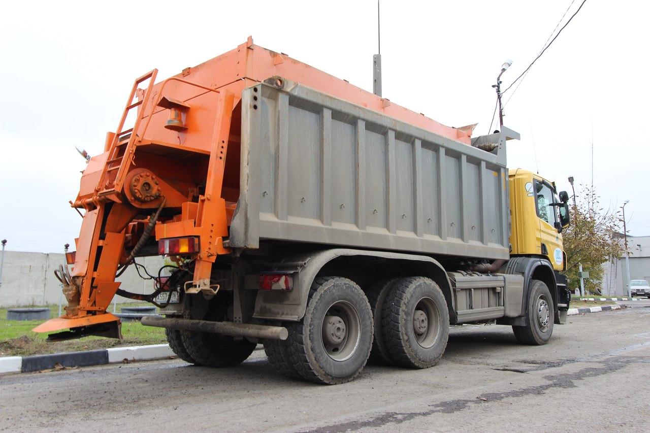 Дорожные службы устранили последствия снегопада на федеральных трассах Ростовской области
