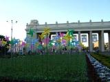 инсталяция. вертушки на Парке Горького