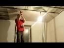 Как одному делать потолок из гк) школа ремонта