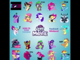 Стикеры My Little Pony в Facebook