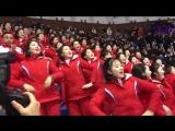 Болельщицы из КНДР на Олимпиаде в Южной Корее [NR]