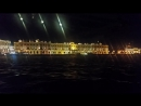 Night Trip On A Boat, Across The Neva River!
