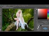 Создаём в Фотошоп коллаж с лесной феей - 2