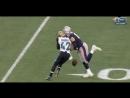 Rob Gronkowski Helmet to Helmet Injury