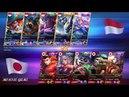 NASIONAL ARENA KONTES INDONESIA VS JEPANG Round 3 GIVE AWAY TINGGAL LIKE AND SUB