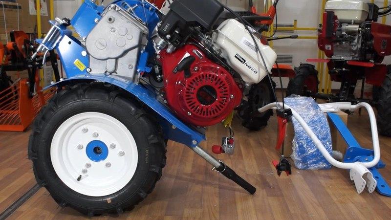 Мотоблок НЕВА МБ 23 H 9 0 PRO с двигателем Honda GX270 9 0 л с обзор и инструкция по сборке