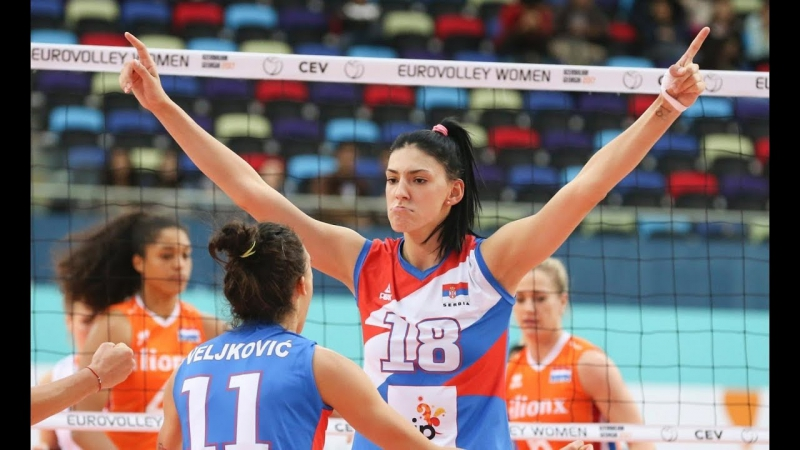 TOP 10 actions by Tijana Boskovic EUROVOLLEY 2017 MVP