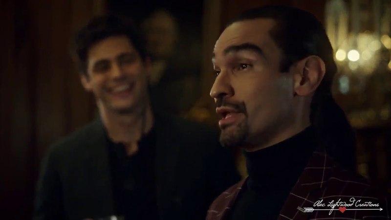 MALEC Magnus Alec ➸ James Bond Shadowhunters ➰ MagnusBane AlecLightwood S03E02