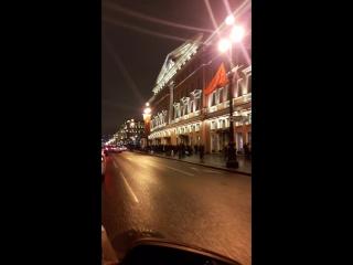 #невскийпроспект #спб #январь2018   в честь снятия блокады