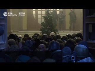 Штурм Октябрьского дворца в Киеве