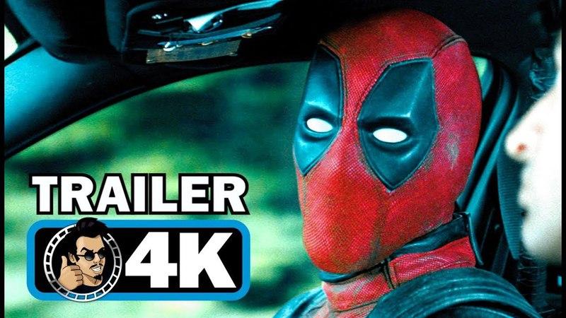 DEADPOOL 2 Official Trailer 5 4K ULTRA HD Ryan Reynolds Marvel Superhero Movie HD