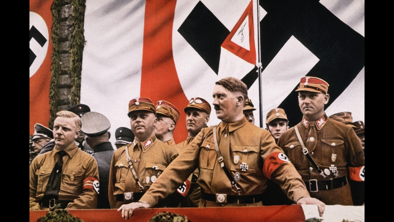 Адольф Гитлер в цвете. Кинохроника Третьего Рейха. / Adolf Hitler in color. Newsreel of the Third Reich.