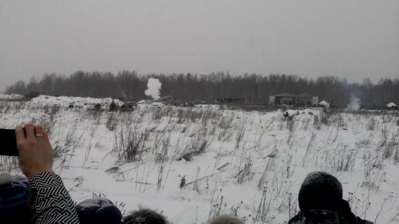 Прорыв блокады Ленинграда на Синявинских высотах!