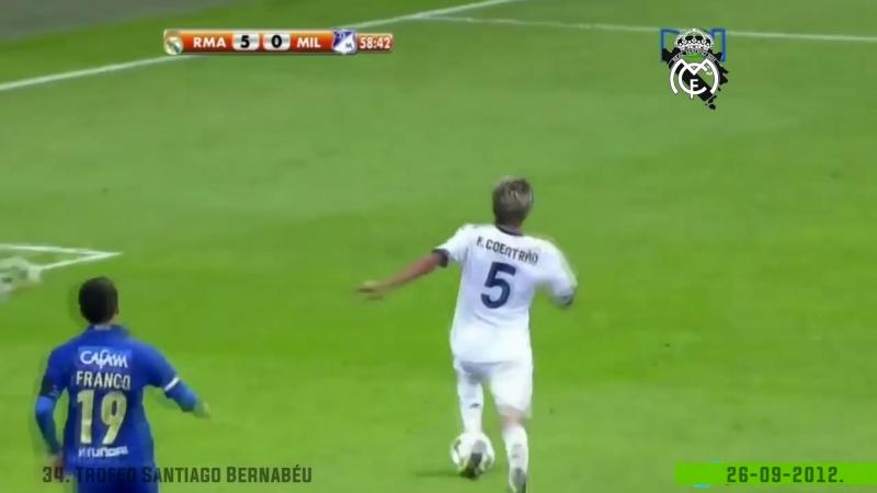 26.09.2012. Real Madrid vs Millonarios 8-0 (34th SB trophy)