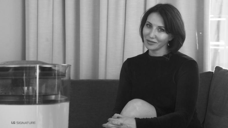 Алика Смехова о климатическом комплексе LG SIGNATURE