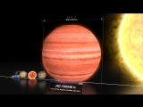 Дух захватывает! Размеры планет, звезд, галактик, скоплений, туманностей, вселеных