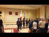Торжественная церемония посвящения в кадеты учеников школы № 22 г.Вологды