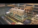 The world's most powerful diesel engine The 14RT-flex96C W