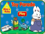 Max and Ruby Games Max and Ruby Toy Parade