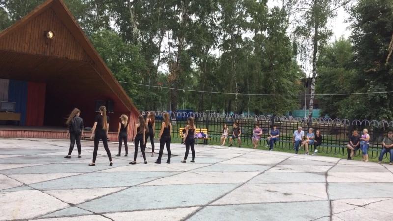 Постановка дефиле школы моделей ModeLife , Парк Горького