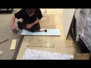 Как ненадо резать стекло