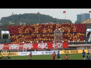 South Korea: Cheering soccer game