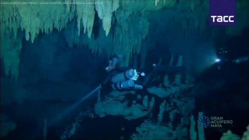 Как выглядит самая длинная в мире подводная пещера