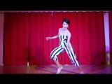 Ksenia Parkhatskayas improvised performance