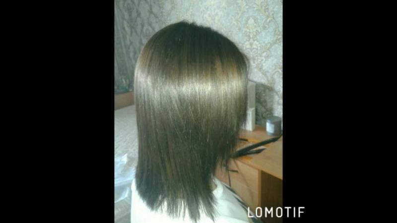 прикорневой объём и ботокс для волос