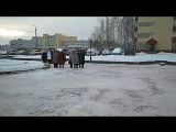 Акция памяти мэра В.Петухова в Нефтеюганске.Он-лайн.