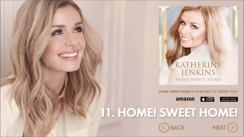 Katherine Jenkins - Home Sweet Home (Official Album Sampler)