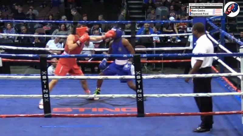 USABNC17 Final: Marc Castro vs Raymond Ford (highlights)