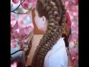 Длинные косы с канекалоном
