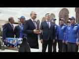 Владимир Путин встретился с членами команды «КамАЗ-мастер» и поздравил их с победой на очередном ралли-рейде «Дакар».