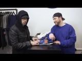 Eminem дарит кроссовки в благотворительном проекте