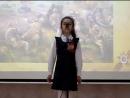 Стихи на День Победы 9 мая детям Степан Кадашников, Ветер войны читает Мартиросян Зарина, 3 класс на конкурс чтецов