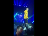 June 25: Video of Justin performing 'Let Me Love You' at the Wireless Festival in Fr