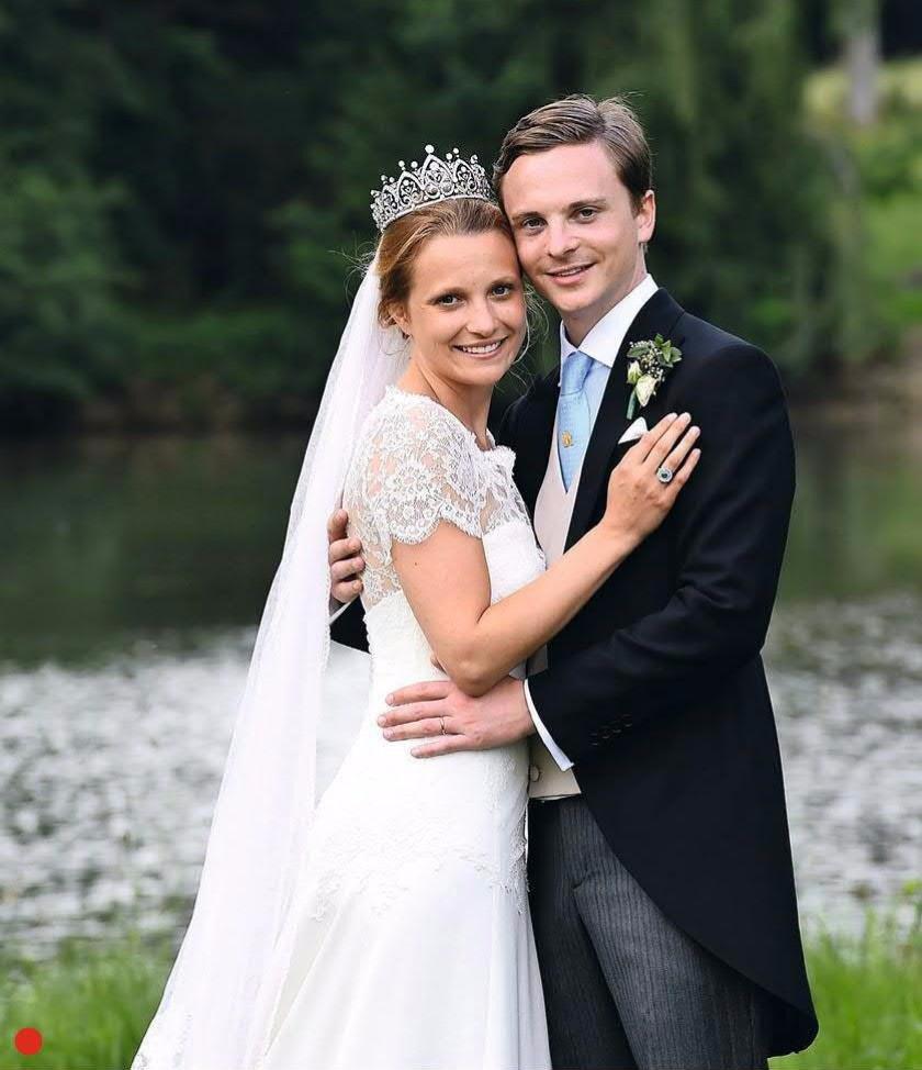 Свадьба Чарльза Астора и принцессы Элианы де Мерод